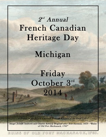 French Canadian Heritage Day 2014
