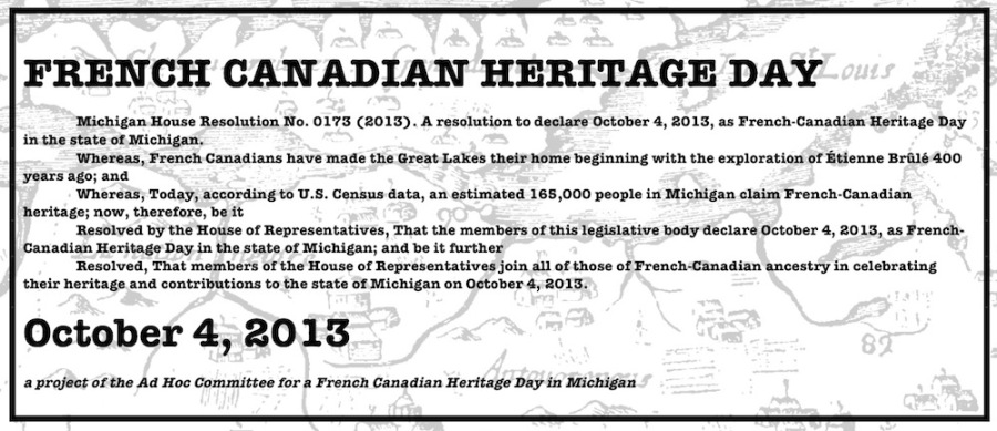 2017 : French Canadian Heritage Week Celebration Begins