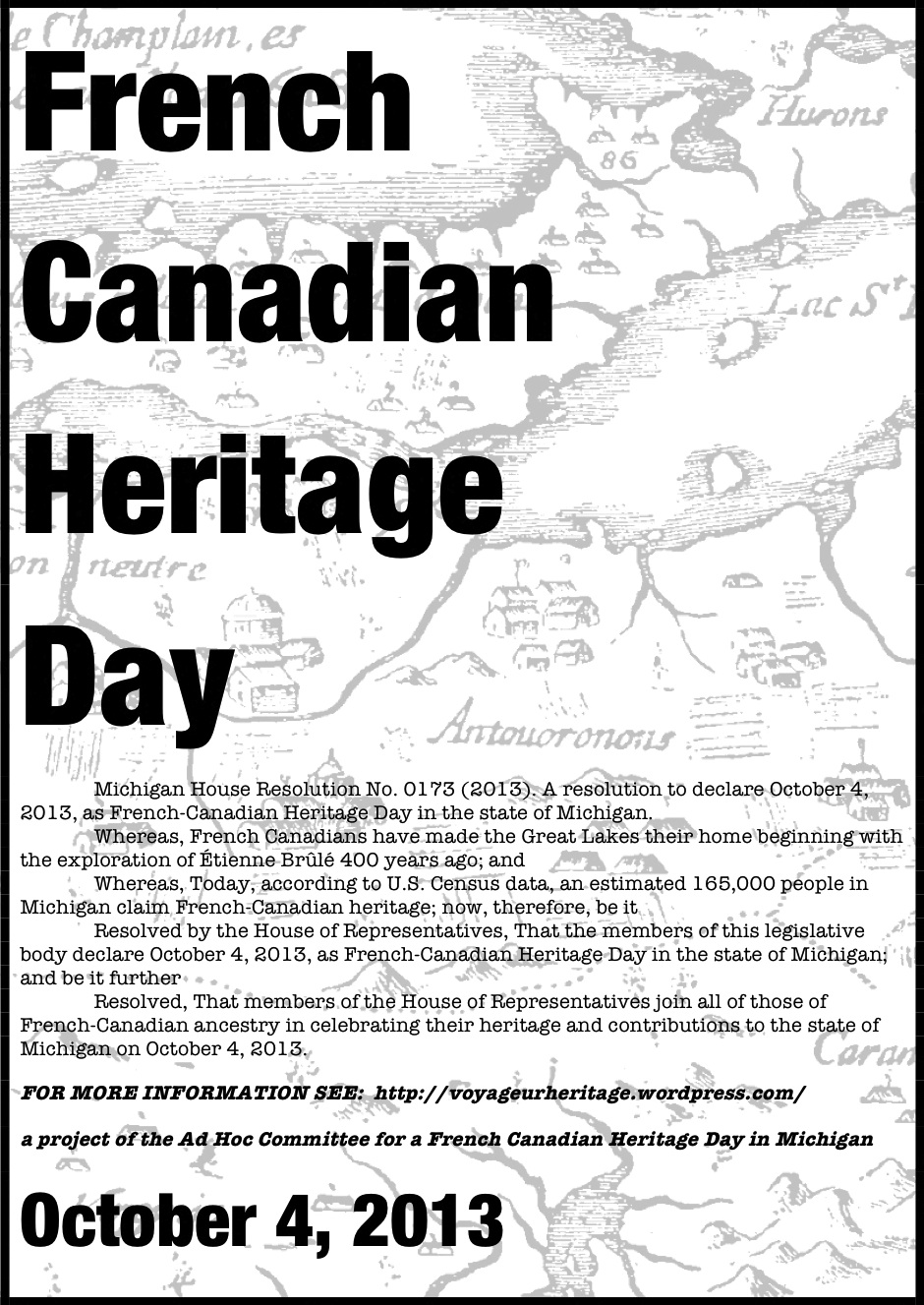 Plan Your Event For French Canadian Heritage Day TODAY
