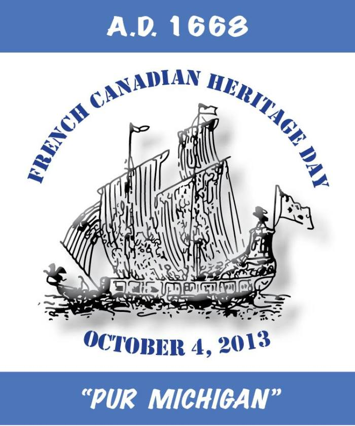 Poster contributed by Stephen Bell, commemorating the storied vessel The Griffon which has lately been the subject of much search and speculation, and, in 1668, the first permanent French settlement in the Great Lakes at Sault Ste. Marie.