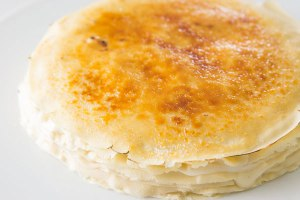Mille Crêpe Cake recipe – modify for les enfants!