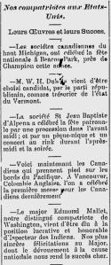 L'Ouest Français June 29, 1888, Bay City, Michigan