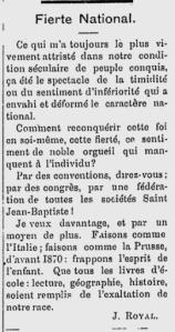 L'Ouest Francais, September 7, 1888