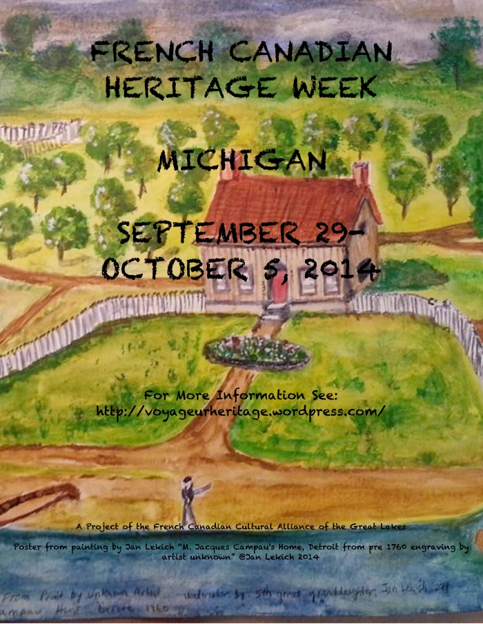 2nd Annual WEEK HERITAGE POSTER