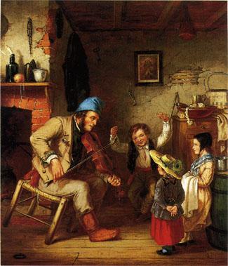 Cornelius Krieghof, la violoneux
