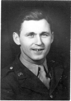 Arvid McPherson, US Air Force, WWII, POW Japan. Courtesy of James McPherson.