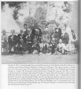 Veterans of the Battle of the River Raisin.
