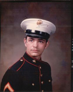 Calvin LaForest, Bay City, Michigan, US Marines. Courtesy of Jesse LaForest.
