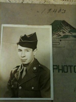 Joseph Eugene LaForest, Tower, Michigan, US Army, WWII, Philippines, Japan. Courtesy of James LaForest.