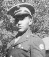 Elmer McPherson, US Army, WWII. Courtesy of James McPherson.