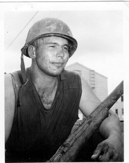 James W McPherson, US Army Security Agency 1968 - 1970, Vietnam. Courtesy of James McPherson.