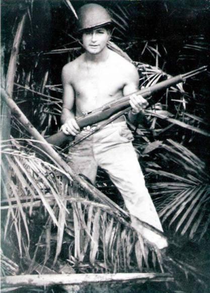 Joseph L. Derusha, WWII. Courtesy of Richard T. Renaud.