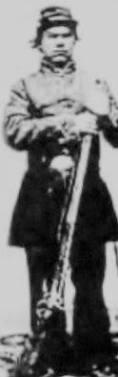 Pascal Odette, Ecorse, Michigan, Civil War, KIA. Courtesy of Richard T. Renaud.
