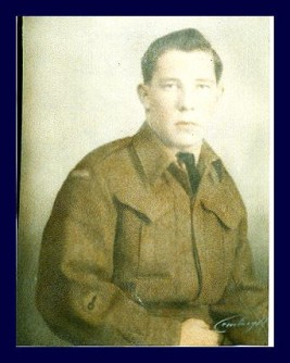 Pte, Rheal Ducharme, 48th Highlanders Regiment, KIA Battle of Monte Cassino 1944. Courtesy of Denise Ducharme.