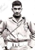 Robert Derusha Backie, USMC. Courtesy of Richard T. Renaud.