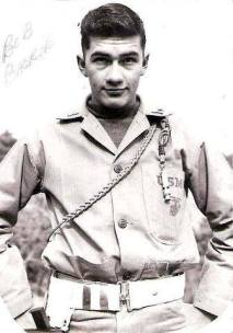 Robert Derusha Backie, USMC. Courtesy of Richard T. Renaud.