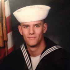 Dennis Renaud Jr. US Navy. Courtesy of Richard T. Renaud.