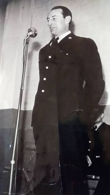 Frederic Granville, Port Franks, Ontario and Detroit, MI. Coast Guard, WWII.
