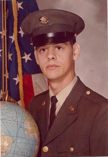 Gerald LaForest, Bay City, Michigan, US Army. Courtesy of Jesse LaForest.