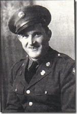 Hector E. Poirier, Cheboygan, Michigan, US Army, WWII. Courtesy of Marjorie Poirier Thibeault.