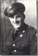 Hector E. Poirier, Cheboygan, Michigan, US Army, WWII. Courtesy of Marjorie Poirier Thibeault.
