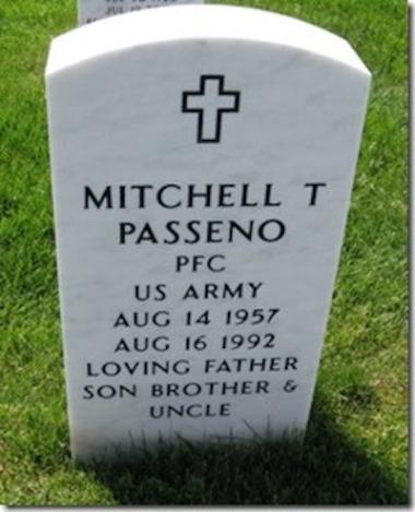 Mitchell T Passeno, Clawson, Michigan, US Army. Courtesy of Marjorie Poirier Thibeault.