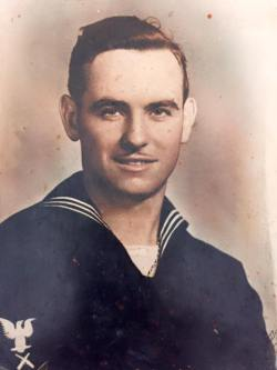 Roland Lawrence Eno, Cheboygan and Detroit, Michigan, US Navy WWII.