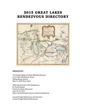 RENDEZVOUS DIRECTORY