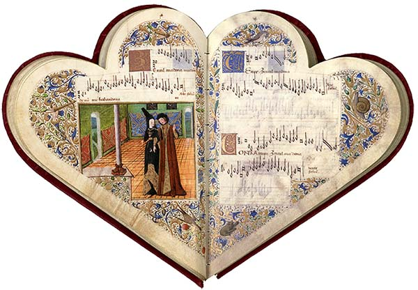 Chansonnier de Jean de Montchenu. Source: http://scholar.library.miami.edu/facsimile/montchenu.html