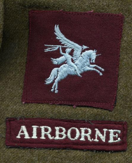 Canadian Airborne. Courtesy of Ms. Carrol Ann LaPlante