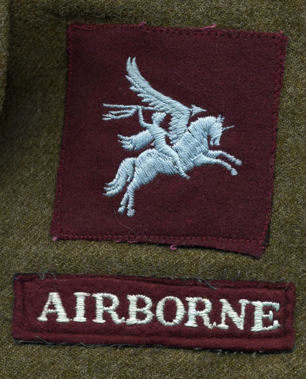 Canadian Airborne. Courtesy of Ms. Carrol Ann LaPlante