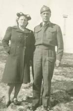 Denis Bellemore, Sudbury, Ontario, 178th Battalion WWI. Courtesy of Gerrard Desjardins.