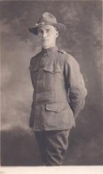 Elmer McPherson, WWI. Courtesy of James McPherson.