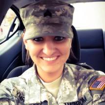 Staff Sgt Jacquelyn Moreau West, USAR, Iraq and Afghanistan. Courtesy of Jesse LaForest.