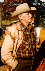Uncle Lewie Durand, photo courtesy of John Durand circa 1980