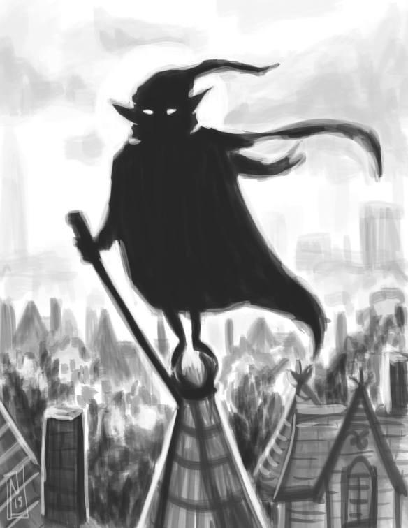 Nain Rouge graphic novel-esque