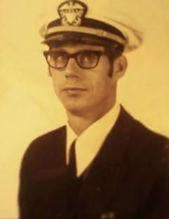 Richard Lee Mannor, Navy Commander, courtesy of Caleb Kitson
