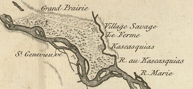 Kaskaskia map copy